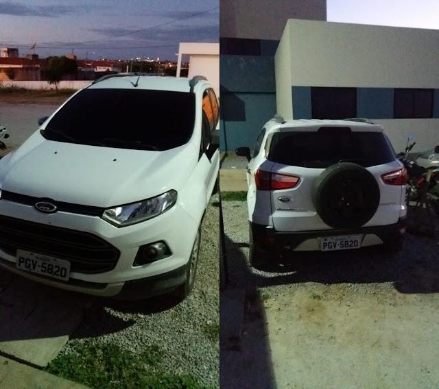 Veículo roubado e clonado é recuperado em Afogados da Ingazeira