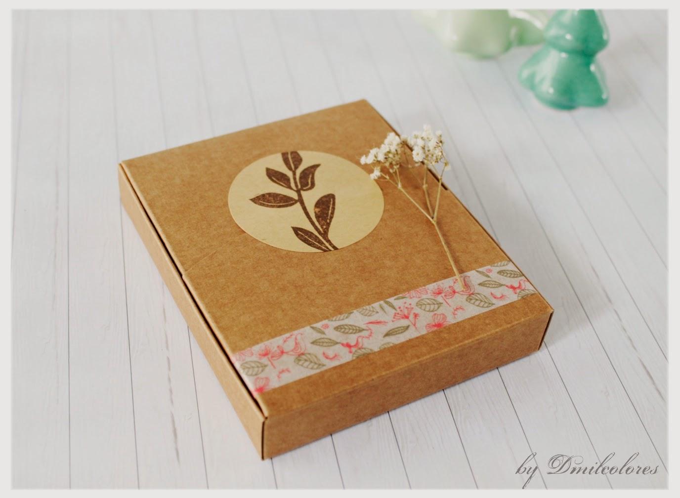 packaging caja kraft