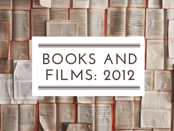 2012 books and films