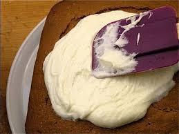 Como cubrir un pastel con betun