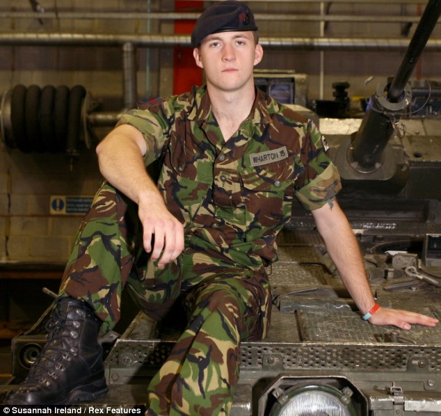 """In his new memoir, """"Out In The Army: My Life as a Gay Solider,"""" Lance  Corporal James Wharton writes that the alleged incident started while  stationed in ..."""