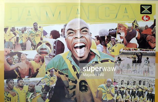 JAMAICA FOOTBALL NATIONAL TEAM 1997