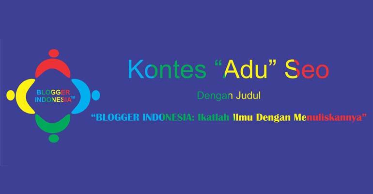BLOGGER INDONESIA : Ikatlah Ilmu Dengan Menuliskannya