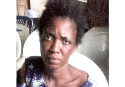 Face Of Woman Who Throw Her Son Inside Well In Lagos... the boy died in her boyfriend's house