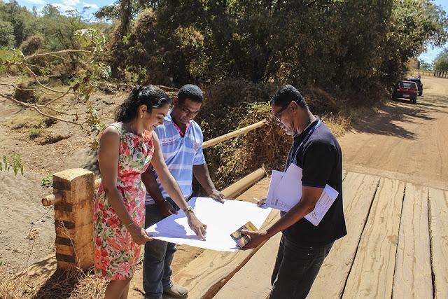 Mais duas pontes serão construídas na zona rural de Cotegipe