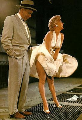 Escena vestido Marilyn Monroe a color