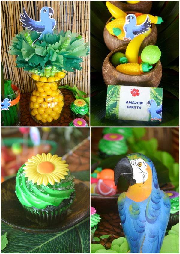 Rio 2 Movie Inspired Birthday Party Party Ideas Party