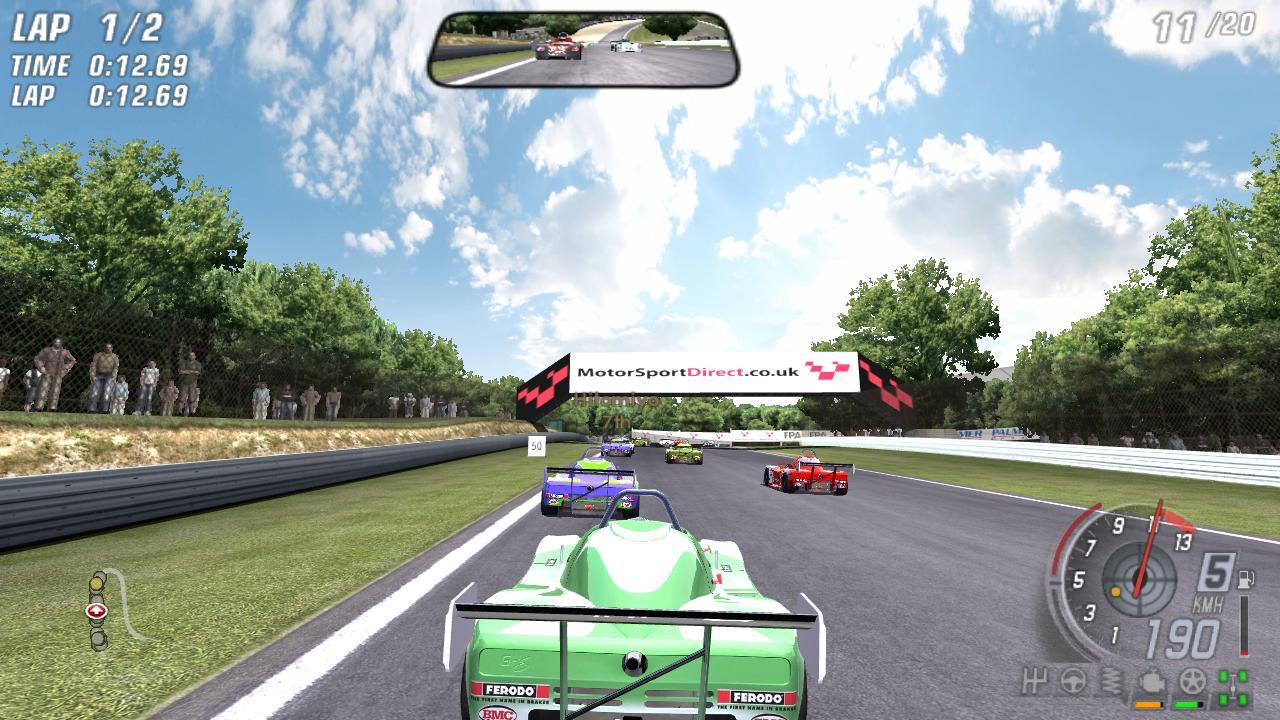 ToCA Race Driver3 : - Global GT Lights Gameplay HD
