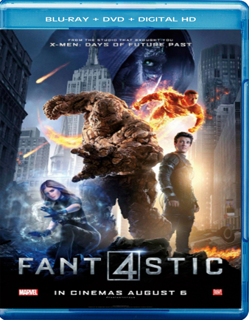 The Fantastic Four [2015] [DVDR BD] [NTSC] [Latino] [Remasterizado] [Davidlanda]