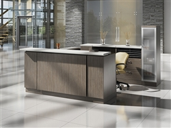 Custom Zira Reception Desk