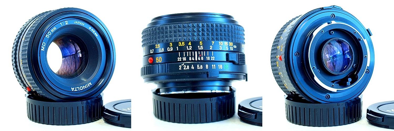 Minolta MD 50mm 1:2 #519
