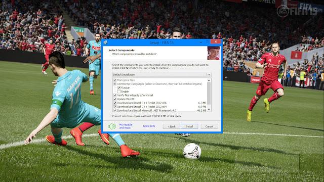 ลงเกมส์ FIFA 15