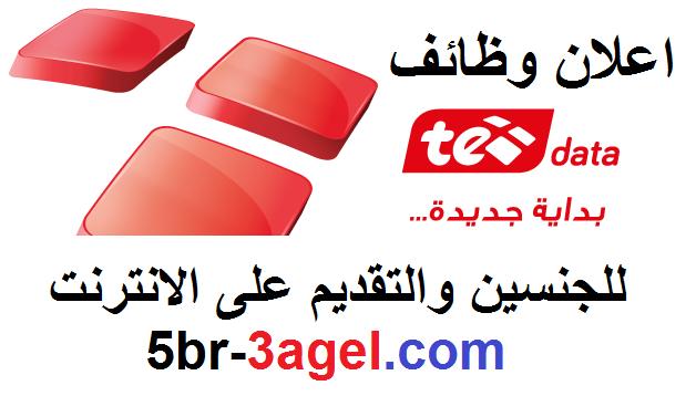 """اعلان وظائف المصرية للاتصالات """" TE data """" لمختلف التخصصات وللجنسن منشور 6/2/2017 - التقديم على الانترنت"""