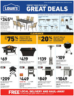 ⭐ Lowes Ad 8/22/19 ✅ Lowes Weekly Ad August 22 2019