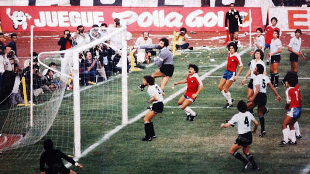 Chile y Uruguay en Clasificatorias a México 1986, 24 de marzo de 1985