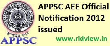 appsc assistant executive engineer notification 2016