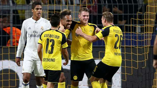 [Video] Cuplikan Gol Dortmund 2-2 Real Madrid (Liga Champions)