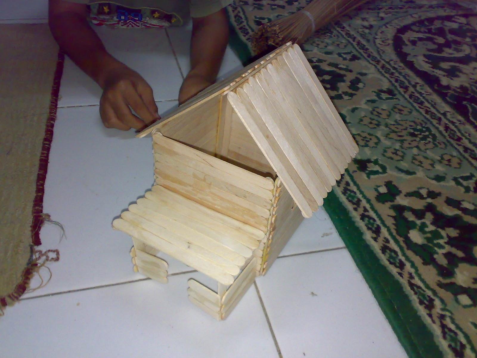 Gambar Rumah Sederhana Dari Stick Es Krim Lowongan Kerja