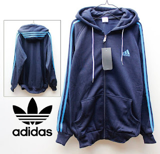 Jaket & Sweater Fleece Hoodie Adidas ADS004