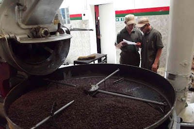 Image result for coffee factory