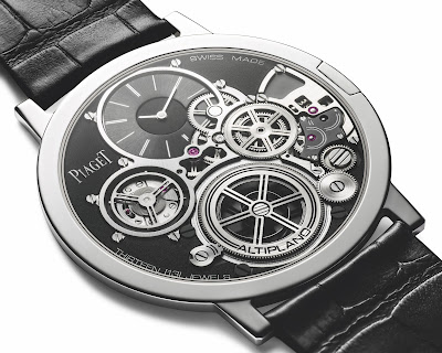 Piaget Altiplano Concept: 2 mm d'épaisseur pour la montre mécanique la plus plate du monde.