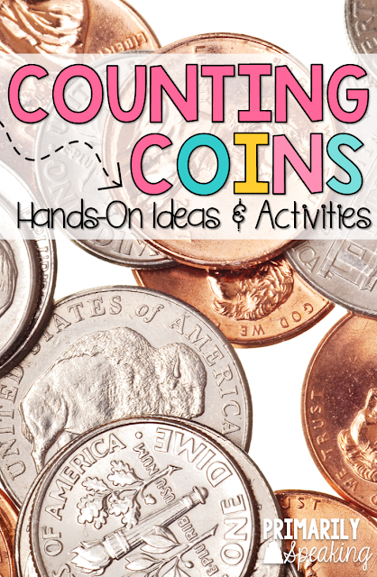 Teaching kids how to count coins