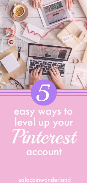 5 Quick and easy ways you can level up your Pinterest account today, boosting engagement, views and followers! #pinterest #pinteresttips #pinterestadvice