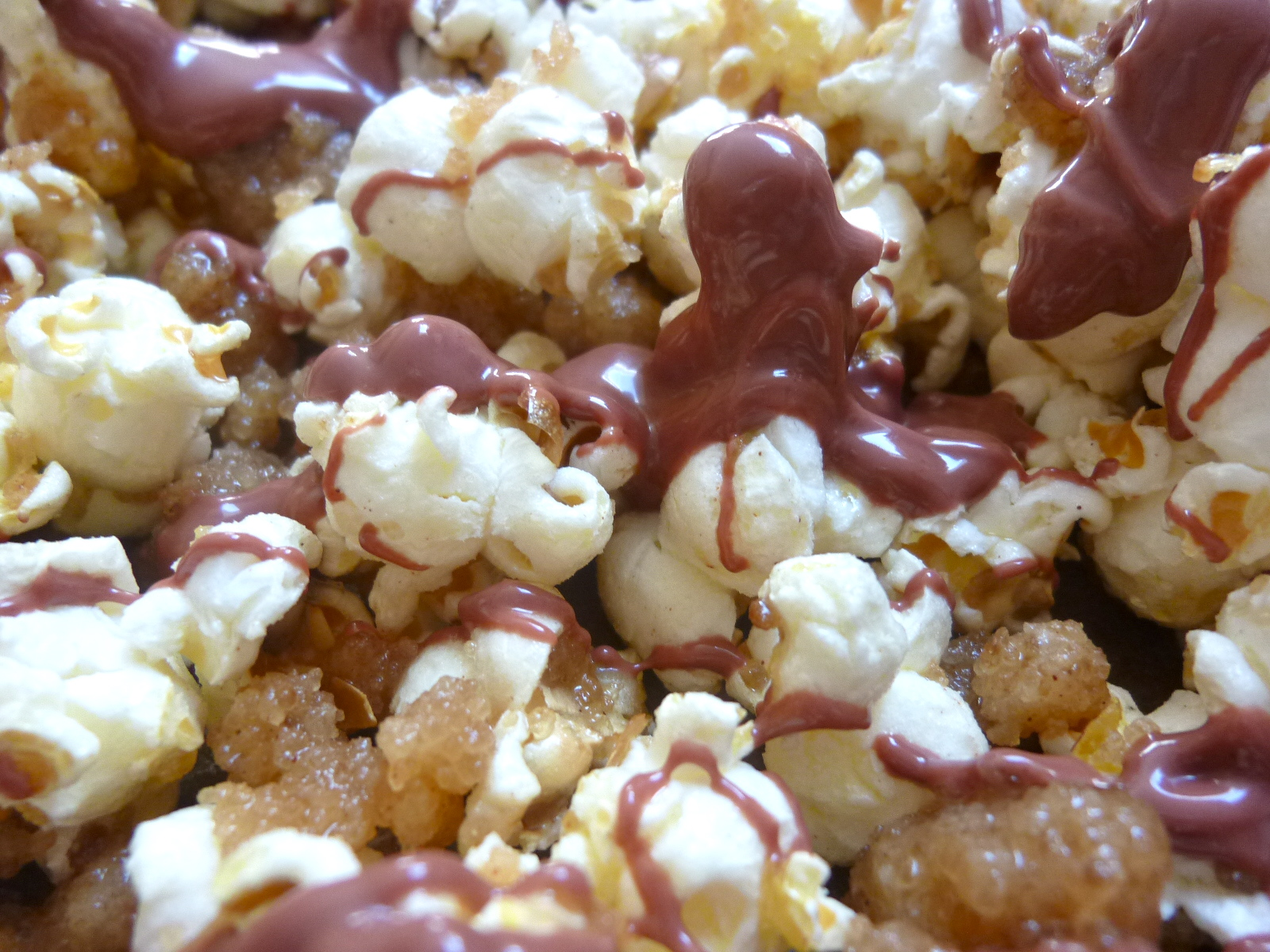 Streusel Cherry Chocolate Popcorn Diary Of A Mad Hausfrau