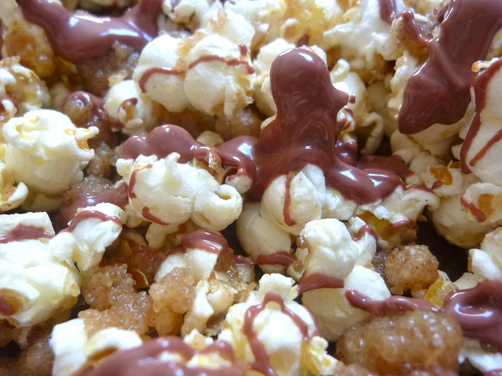 Streusel Cherry Chocolate Popcorn Diary Of A Mad Hausfrau