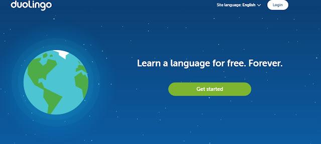 موقع duolingo