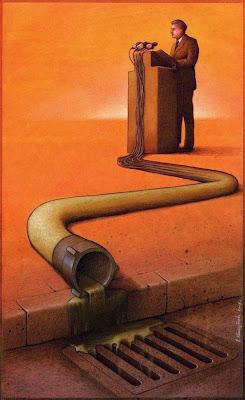 Dibujos satíricos sobre el mundo de Pawel Kuczynski