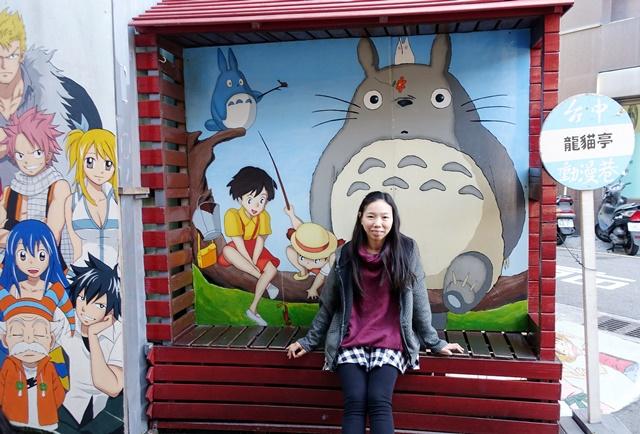 動漫彩繪巷~台中西區旅遊景點