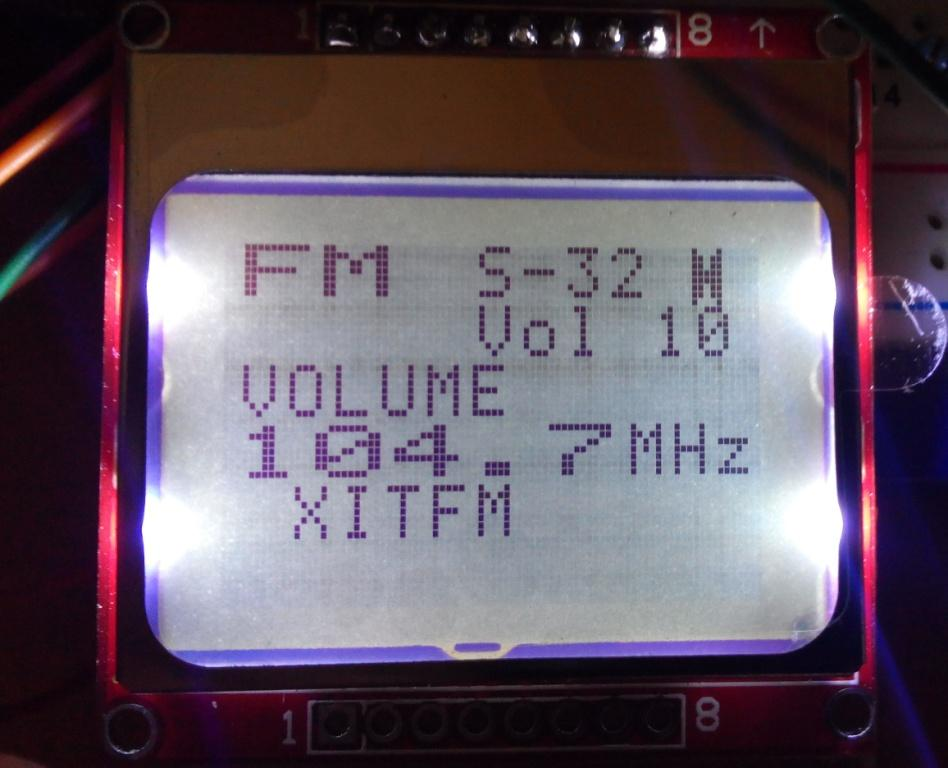 Rda on tea5767 fm radio module