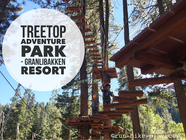 Treetop Adventure Park - Granlibakken Resort