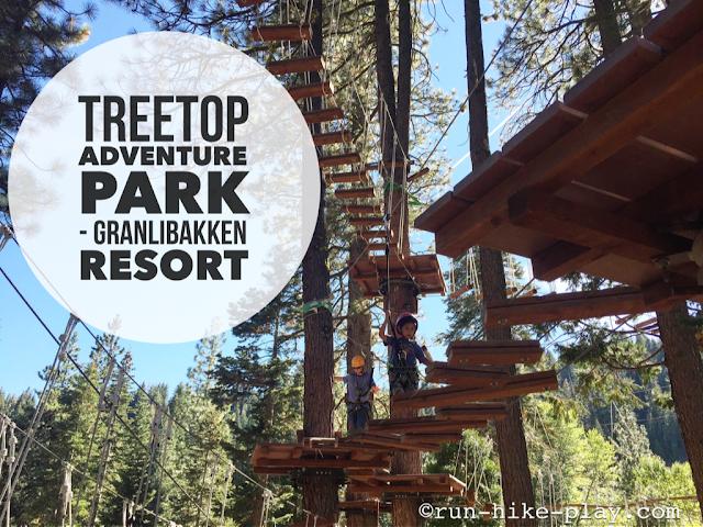 Treetop Adventure Park - Granlibakken Resort