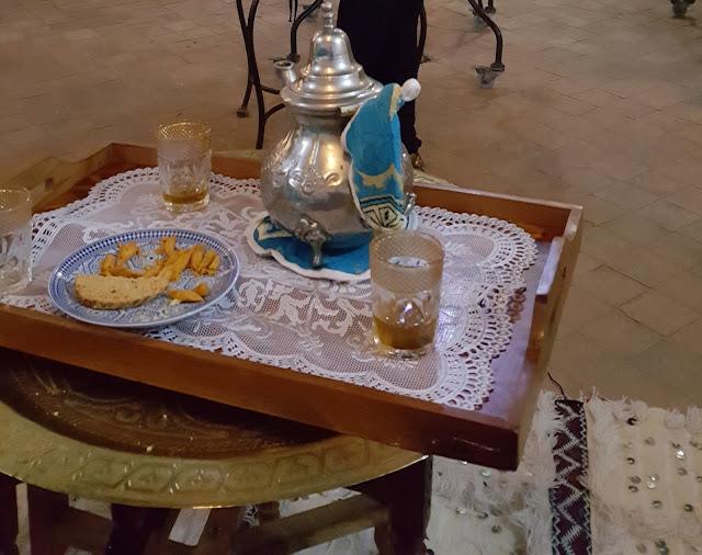 Te a la menta en Marruecos