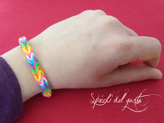 braccialetto elastici Rainbow Loom