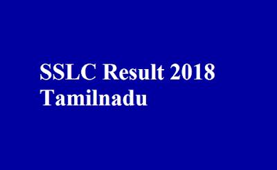 SSLC Result 2018 Tamilnadu
