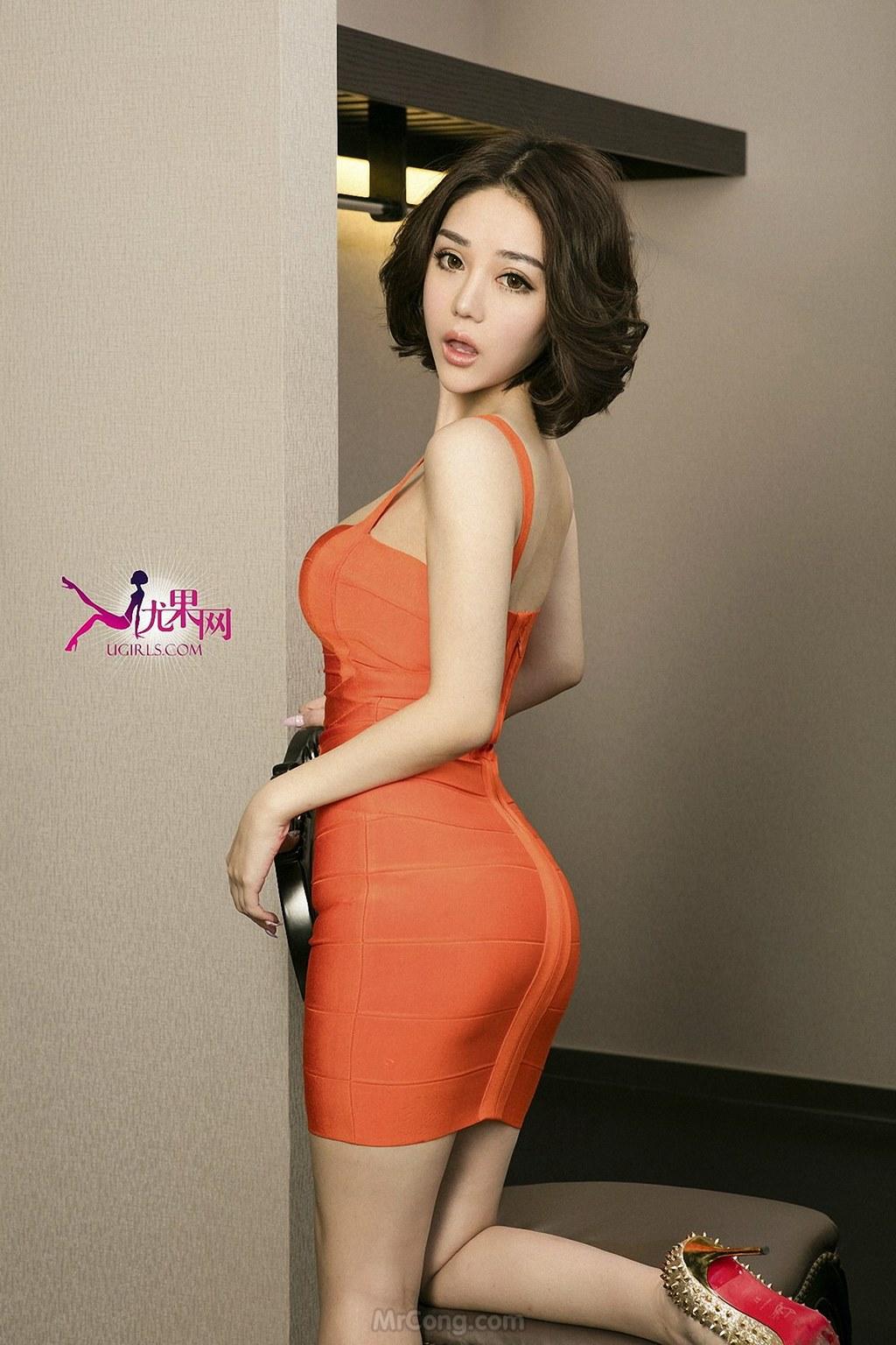 Image MrCong.com-UGIRLS-U146-Wang-Er-Lin-007 in post Mê mẩn với thân hình hoàn hảo của người đẹp Wang Er Lin (王尔琳) trong bộ ảnh UGIRLS 146