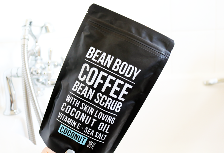 Bean Body Coffee Bean Scrub in Coconut review