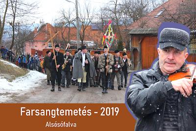 Farsangtemetés Alsósófalván - 2019