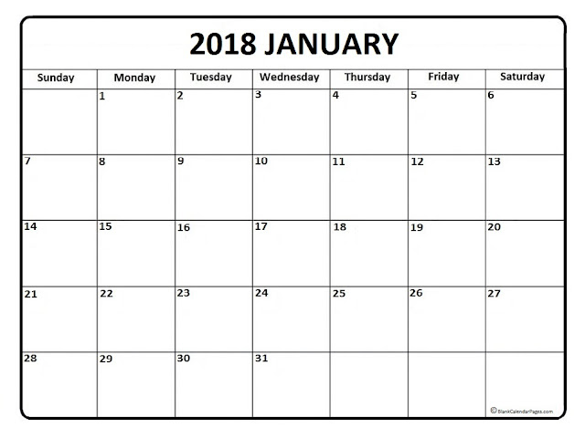 January 2018 Printable Calendar, January 2018 Blank Calendar, January 2018 Calendar Template, January 2018 Calendar Printable, January 2018 Calendar. January Calendar 2016, January Calendar, Print January Calendar 2016, Calendar 2018 January, January Templates Calendar 2018