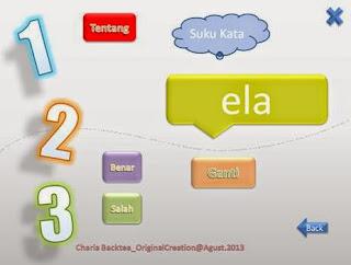 kuis interaktif powerpoint belajar membaca suku kata