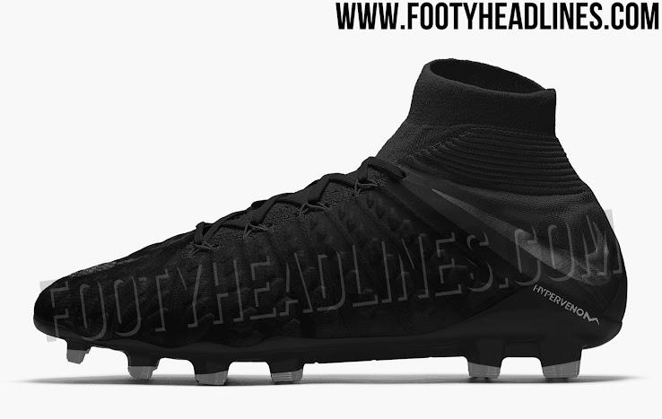 Blackout Nike Hypervenom Phantom Iii 2018 19 Black Pack