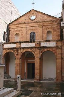 טבריה בתמונות: כנסיית פטרוס הקדוש