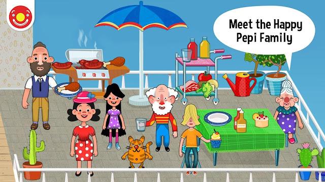 Pepi House v1.0.53 Tüm Kilitler Açık Ful APK