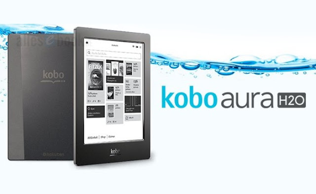 Kobo Aura H2O Waterproof eBook Reader - best e-reader for water resist