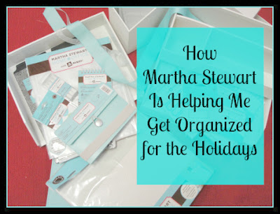 getting organized for the holiday