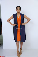 Priyamani in Beautiful Short Deep neck Orange Dress ~  Exclusive 38.JPG