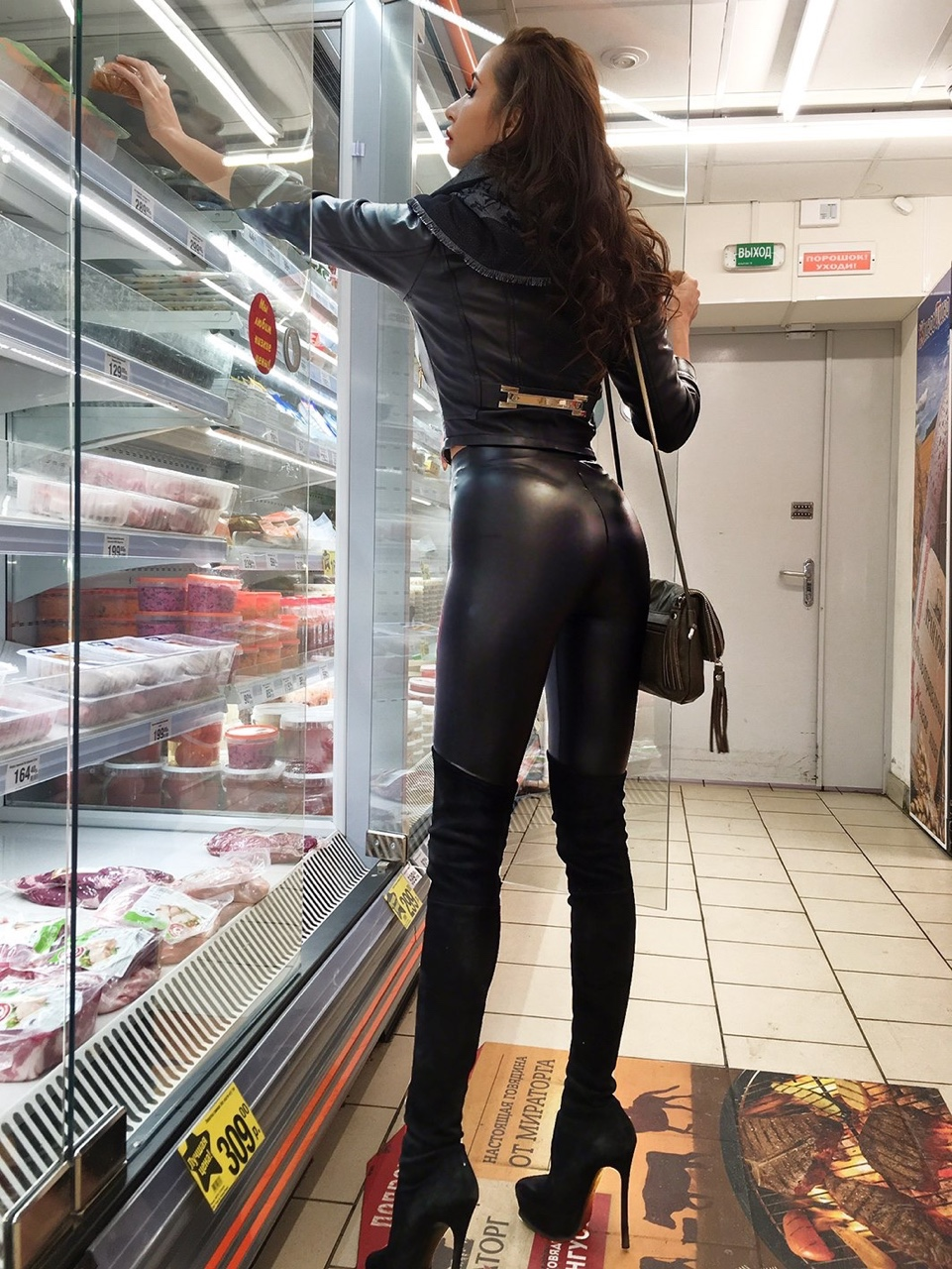 Lovely Ladies In Leather December 2016-8885